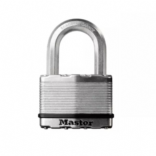 Master Lock M5EURD Excell Laminated Steel 50mm Padlock - 25mm Shackle
